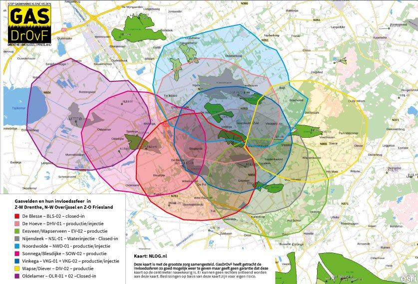 Gas en Beven in Drenthe